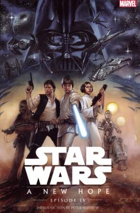 STAR WARS EPISODE IV A NEW HOPE GRAPHIC NOVEL