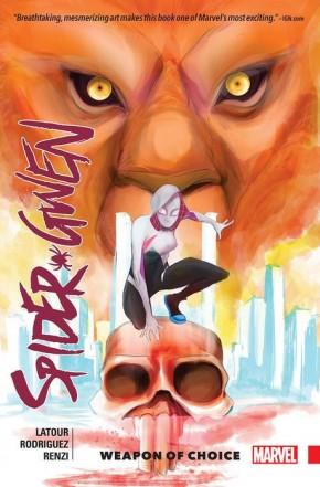 SPIDER-GWEN VOLUME 2 WEAPON OF CHOICE GRAPHIC NOVEL