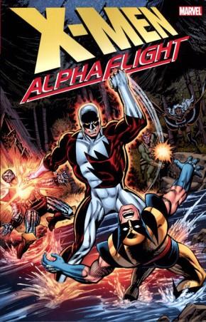 X-MEN ALPHA FLIGHT GRAPHIC NOVEL