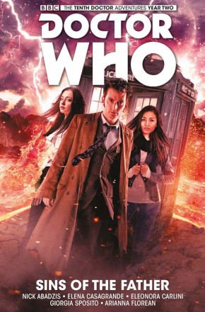 DOCTOR WHO 10TH DOCTOR VOLUME 6 SINS OF THE FATHER HARDCOVER