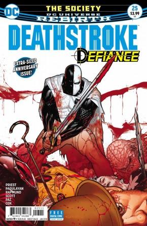 DEATHSTROKE #25 (2016 SERIES)