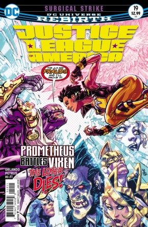 JUSTICE LEAGUE OF AMERICA #19 (2017 SERIES)