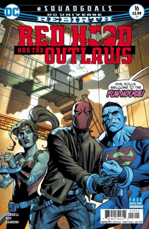 RED HOOD AND THE OUTLAWS #16 (2016 SERIES)