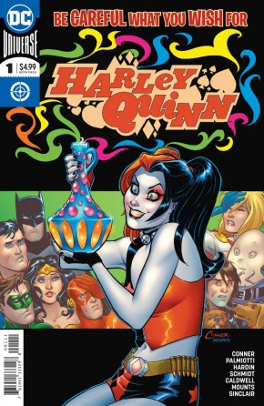 HARLEY QUINN BE CAREFUL WHAT YOU WISH FOR #1