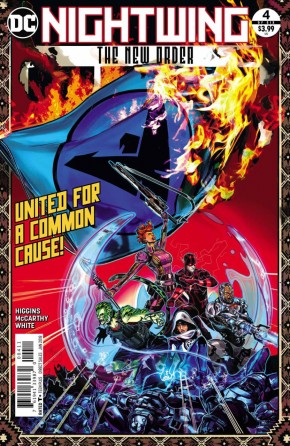 NIGHTWING THE NEW ORDER #4