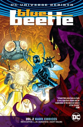 BLUE BEETLE VOLUME 2 HARD CHOICES GRAPHIC NOVEL