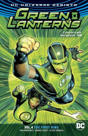 GREEN LANTERNS VOLUME 4 THE FIRST RINGS GRAPHIC NOVEL