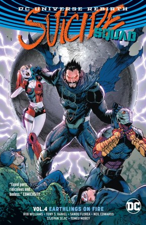 SUICIDE SQUAD VOLUME 4 EARTHLINGS ON FIRE GRAPHIC NOVEL