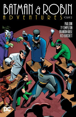 BATMAN AND ROBIN ADVENTURES VOLUME 2 GRAPHIC NOVEL
