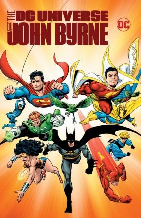 DC UNIVERSE BY JOHN BYRNE HARDCOVER