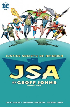 JSA BY GEOFF JOHNS BOOK 1 GRAPHIC NOVEL