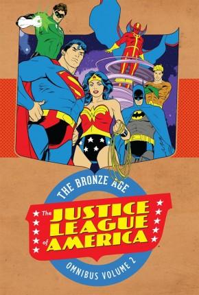 JUSTICE LEAGUE OF AMERICA BRONZE AGE OMNIBUS VOLUME 2 HARDCOVER