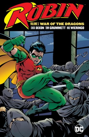 ROBIN VOLUME 5 WAR OF THE DRAGONS GRAPHIC NOVEL