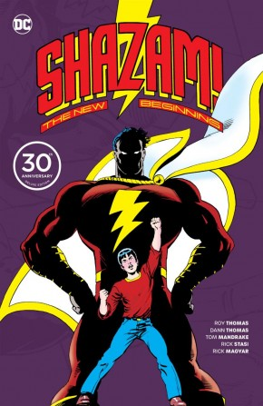 SHAZAM A NEW BEGINNING 30TH ANNIVERSARY DELUXE EDITION HARDCOVER
