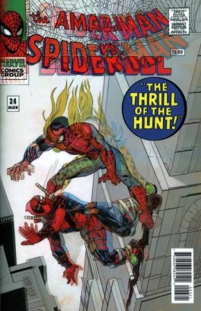 SPIDER-MAN DEADPOOL #23 LEGACY CAMUNCOLI LENTICULAR VARIANT