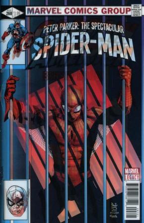 PETER PARKER SPECTACULAR SPIDER-MAN #297 (2017 SERIES) LEGACY SIQUEIRA LENTICULAR VARIANT