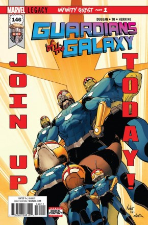 GUARDIANS OF THE GALAXY #146 (2017 SERIES) LEGACY