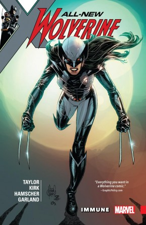 ALL NEW WOLVERINE VOLUME 4 IMMUNE GRAPHIC NOVEL