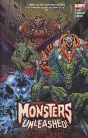 MONSTERS UNLEASHED VOLUME 1 MONSTER MASH GRAPHIC NOVEL