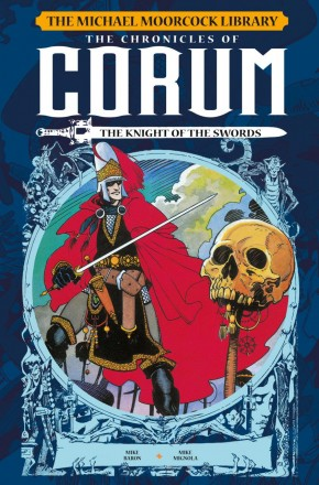 MOORCOCK CORUM VOLUME 1 LIBRARY EDITION THE KNIGHT OF THE SWORDS HARDCOVER