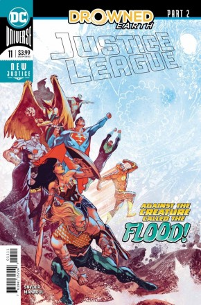 JUSTICE LEAGUE #11 (2018 SERIES)