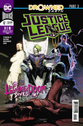 JUSTICE LEAGUE #12 (2018 SERIES)