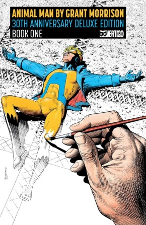 ANIMAL MAN BY GRANT MORRISON BOOK 1 30TH ANNIVERSARY DELUXE EDITION HARDCOVER