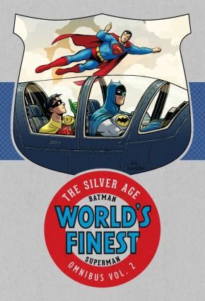 BATMAN SUPERMAN WORLDS FINEST SILVER AGE OMNIBUS VOLUME 2 HARDCOVER