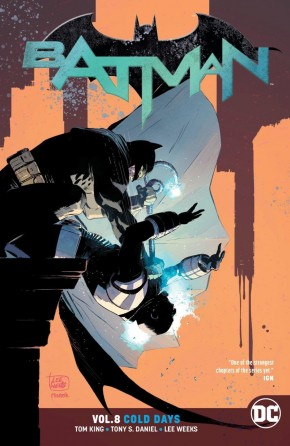 BATMAN VOLUME 8 COLD DAYS GRAPHIC NOVEL