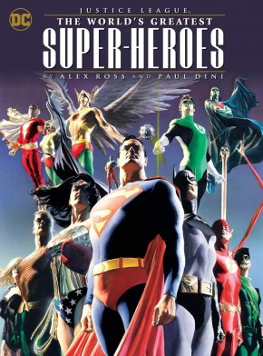 JUSTICE LEAGUE WORLDS GREATEST HEROES BY ROSS AND DINI GRAPHIC NOVEL