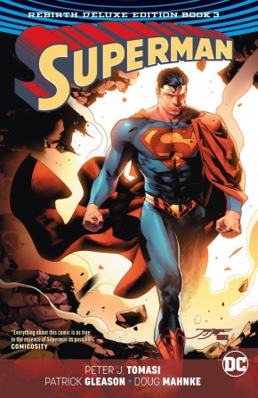 SUPERMAN REBIRTH BOOK 3 DELUXE COLLECTION HARDCOVER