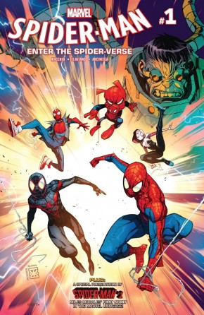 SPIDER-MAN ENTER THE SPIDER-VERSE #1