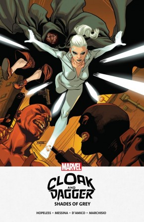 CLOAK AND DAGGER MPGN SHADES OF GRAY GRAPHIC NOVEL
