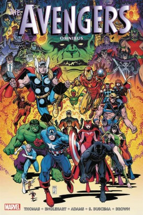 AVENGERS OMNIBUS VOLUME 4 ARTHUR ADAMS VARIANT HARDCOVER NOTE: Two Small Edge Dents (See Photos)