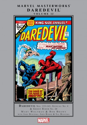MARVEL MASTERWORKS DAREDEVIL VOLUME 13 HARDCOVER