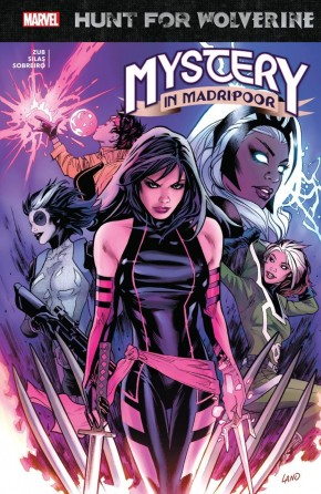 HUNT FOR WOLVERINE MYSTERY IN MADRIPOOR GRAPHIC NOVEL