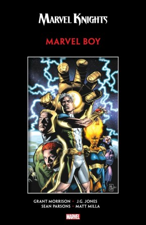 MARVEL KNIGHTS MARVEL BOY BY MORRISON AND JONES GRAPHIC NOVEL