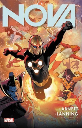NOVA BY ABNETT AND LANNING THE COMPLETE COLLECTION VOLUME 2 GRAPHIC NOVEL