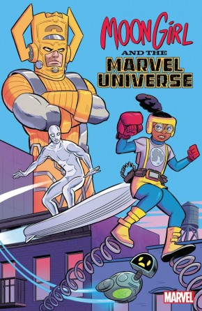 MOON GIRL AND MARVEL UNIVERSE GRAPHIC NOVEL