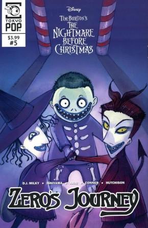 NIGHTMARE BEFORE CHRISTMAS ZEROS JOURNEY #5