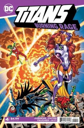 TITANS BURNING RAGE #4