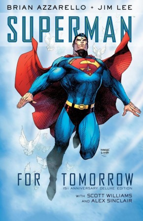 SUPERMAN FOR TOMORROW 15TH ANNIVERSARY DELUXE EDITION HARDCOVER