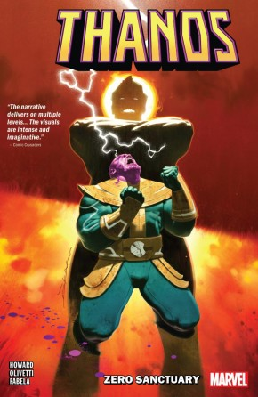 THANOS ZERO SANCTUARY GRAPHIC NOVEL