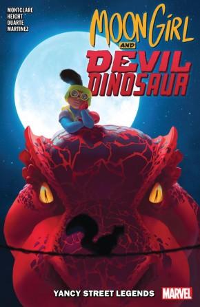 MOON GIRL AND DEVIL DINOSAUR VOLUME 8 YANCY STREET LEGENDS GRAPHIC NOVEL