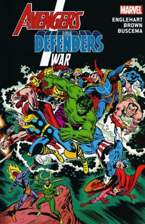 AVENGERS DEFENDERS WAR GRAPHIC NOVEL (NEW PRINTING)