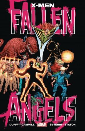 X-MEN FALLEN ANGELS GRAPHIC NOVEL