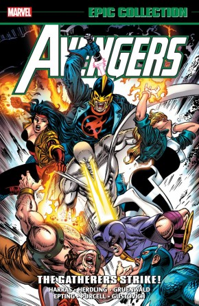 AVENGERS EPIC COLLECTION THE GATHERERS STRIKE GRAPHIC NOVEL