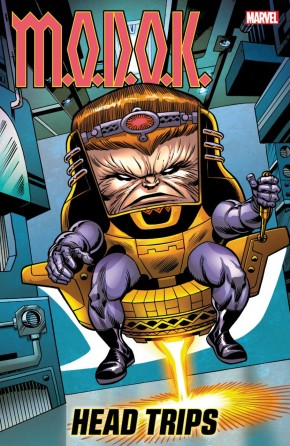 MODOK HEAD TRIPS GRAPHIC NOVEL