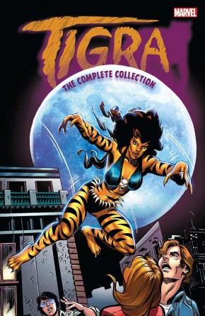 TIGRA THE COMPLETE COLLECTION GRAPHIC NOVEL