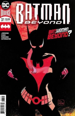 BATMAN BEYOND #37 (2016 SERIES) 2ND PRINTING